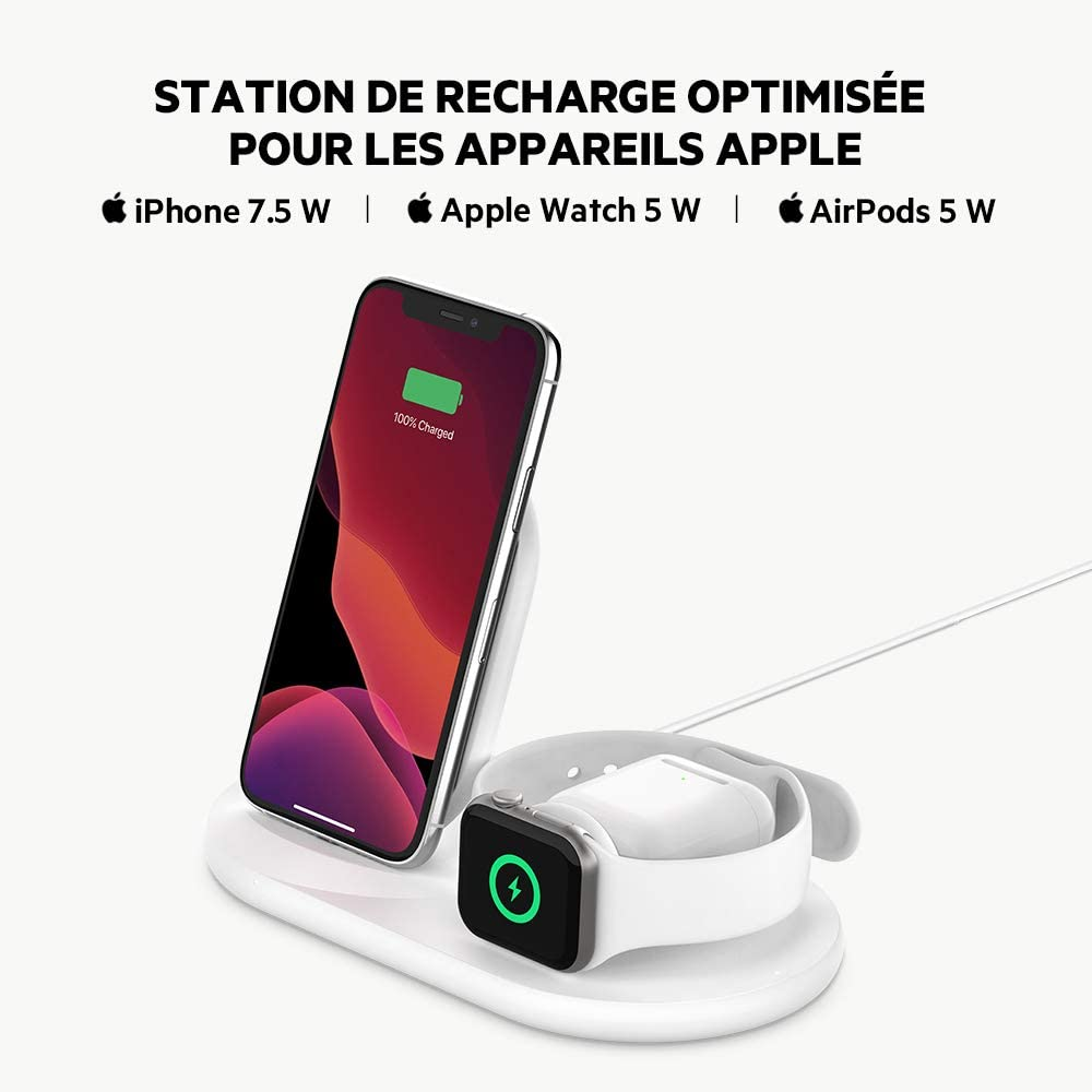 station de recharge à induction apple